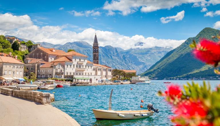 Perast in der Kotor Bucht