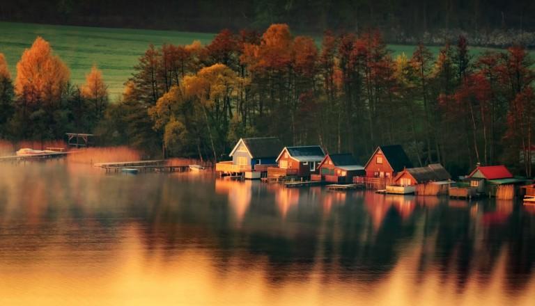 Naturidylle bei Krakow am See.