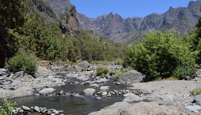 La Palma Landschaft Reisen