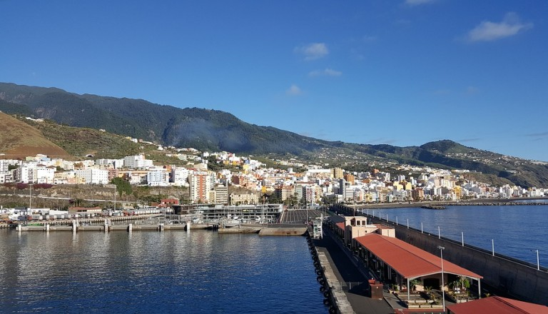 Santa Cruz - Die Hauptstadt von La Palma.