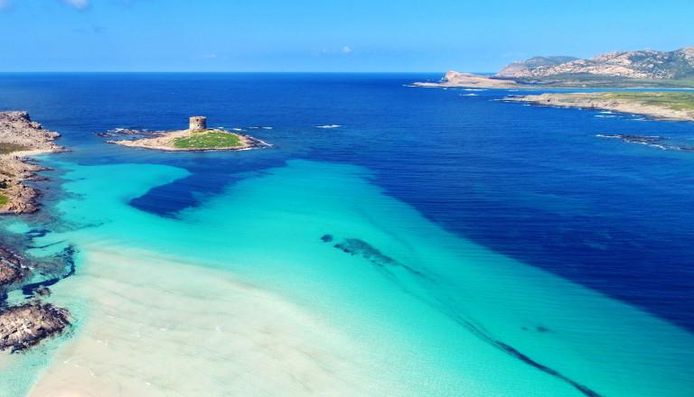 La Pelosa auf Sardinien