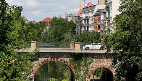 Das charmante Musikviertel in Leipzig.
