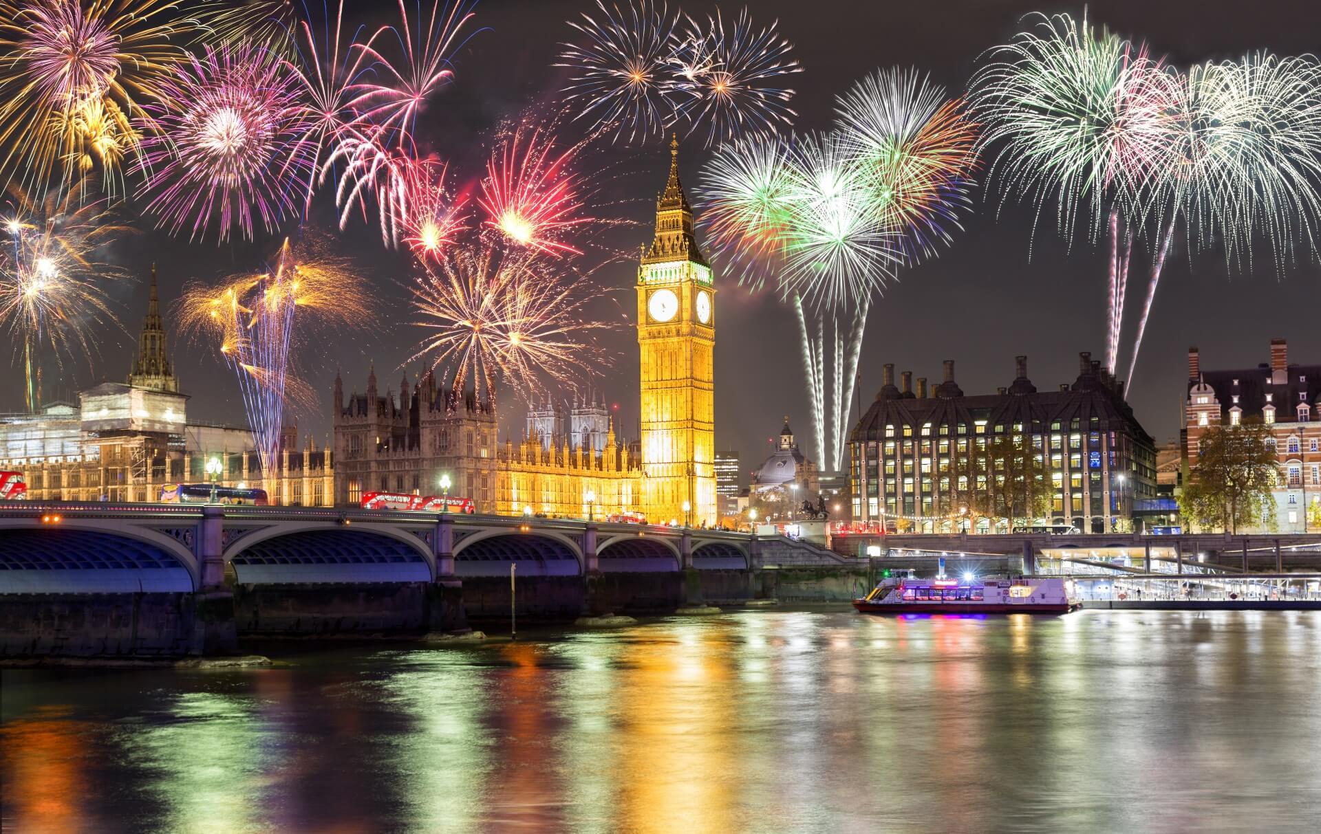 5 Nächte mit Flug ★ Zeit zum Abfeiern Silvester in London