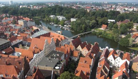 Die Altstadt von Lübeck gehört zum Weltkulturerbe.
