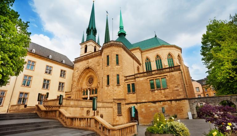 Kathedrale von Luxemburg Notre-Dame