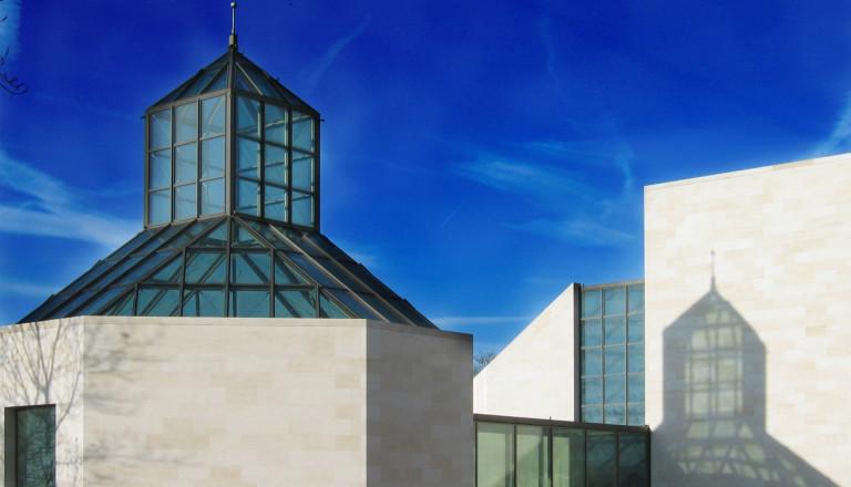 Das Musée d'Art Moderne Grand-Duc in der Hauptstadt Luxemburg.
