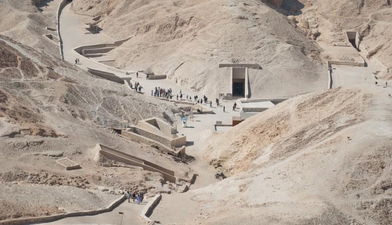 Das Tal der Könige in Luxor.