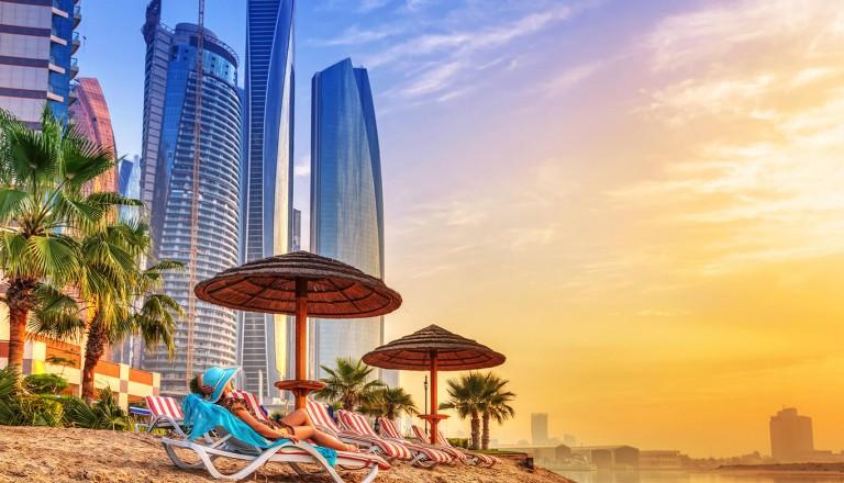Luxusurlaub - Abudhabi Strand