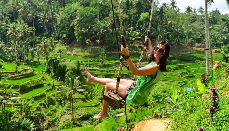 Luxusurlaub - Reisterrassen von Bali