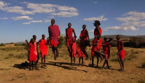 Das Reservat der Massais ist Teil der Serengeti.
