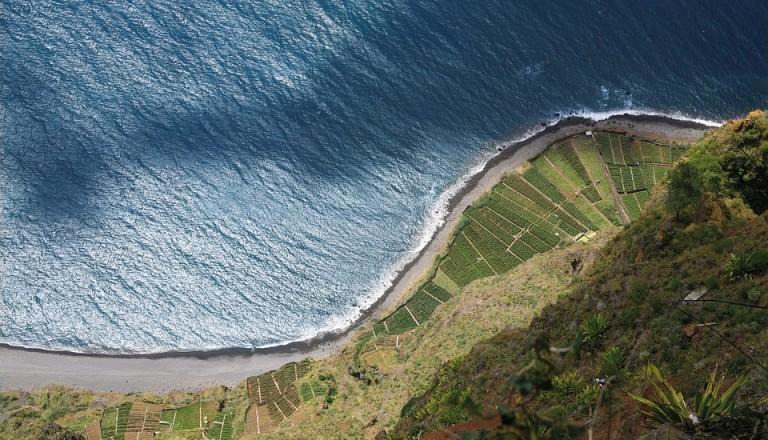 Die höchsten Steilklippen Europas befinden sich auf Madeira.