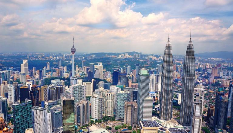 Auf Platz 1 ganz klar die Hauptstadt Kuala Lumpur.
