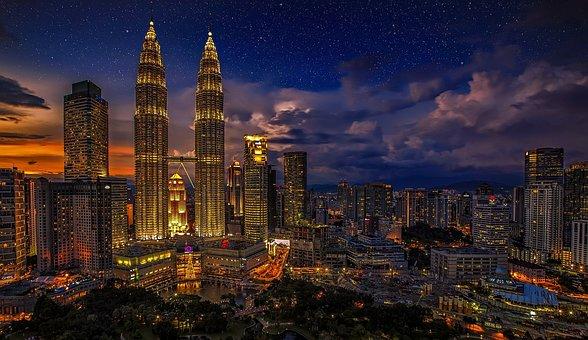 malaysia kuala lumpur petronas twin towers