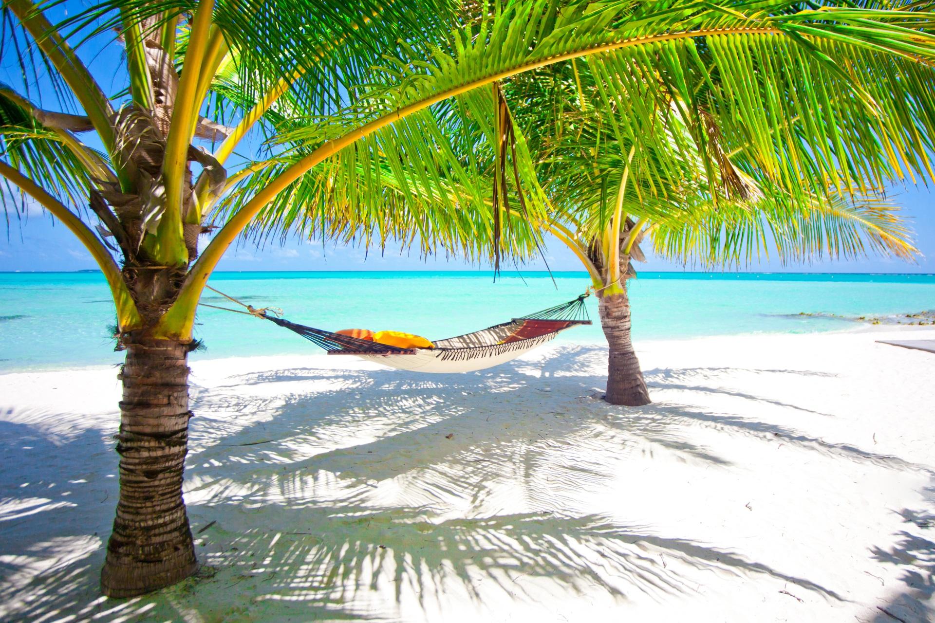 Pauschalreisen Malediven Hängematte