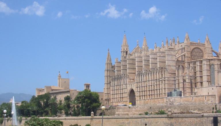 Die gotische Kathedrale von Palma de Mallorca.