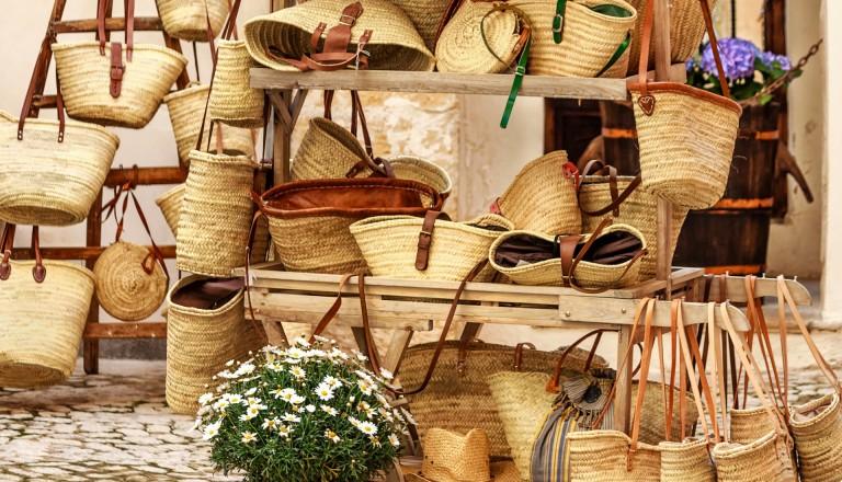 Shopping in Palma de Mallorca.