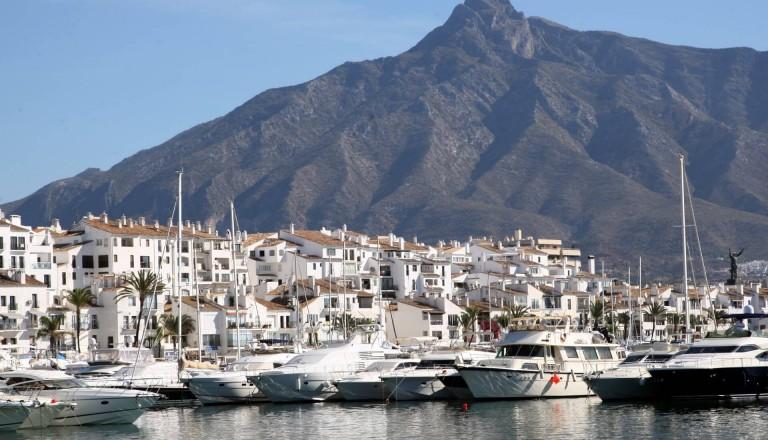 Der Puerto Banus in Marbella.