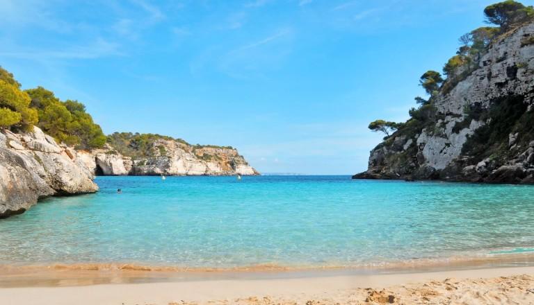 Marcaletta Strand Menorca