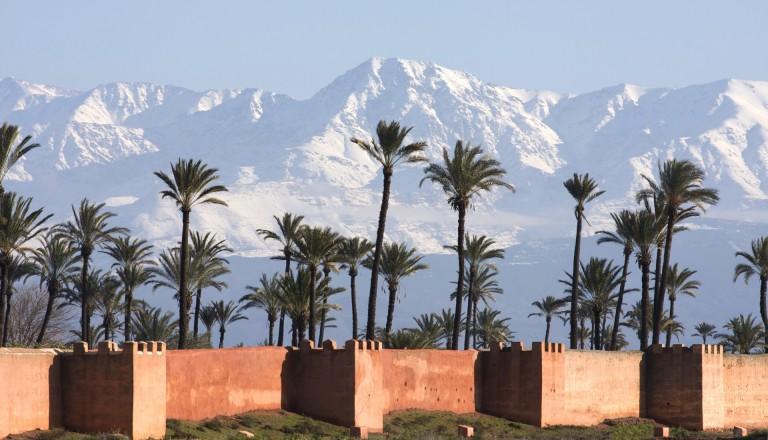 Die Agdal Gärten in Marrakesch
