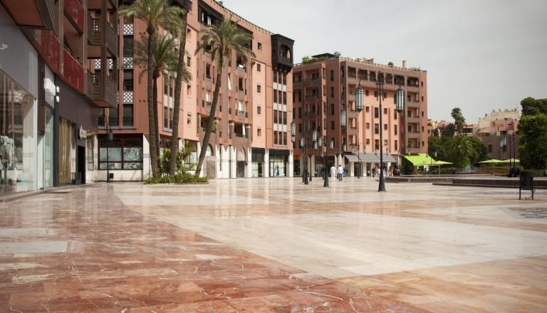 Die moderne Neustadt von Marrakesch! Stadtteile Reisen