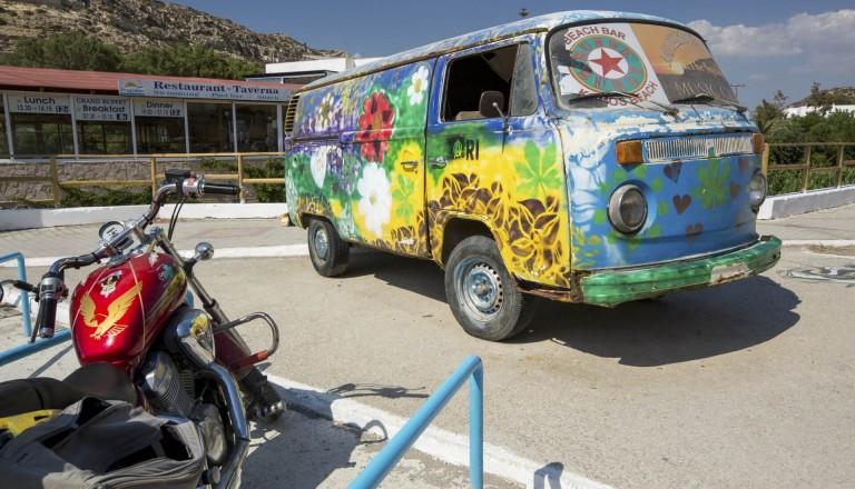 Matala Hippie Bus