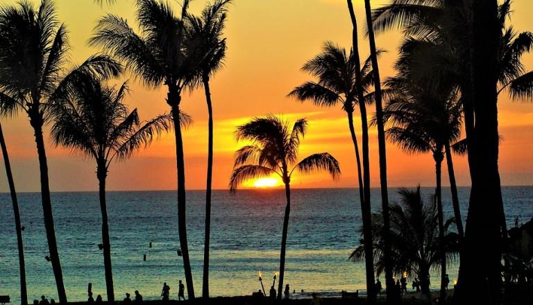 Hawaii Sonnenuntergang