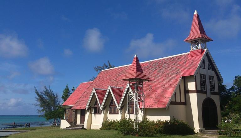 Die Kapelle Notre Dame Auxiliatrice auf Mauritius