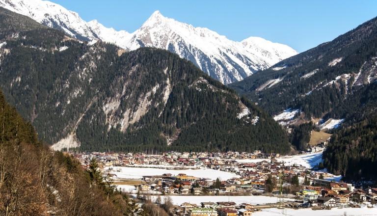 Mayrhofen - Das Ski Resort in den Zillertaler Alpen.