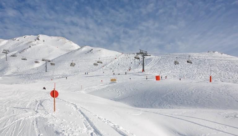 Mayrhofen bietet exzellente Pisten für jeden Schwierigkeitsgrad.