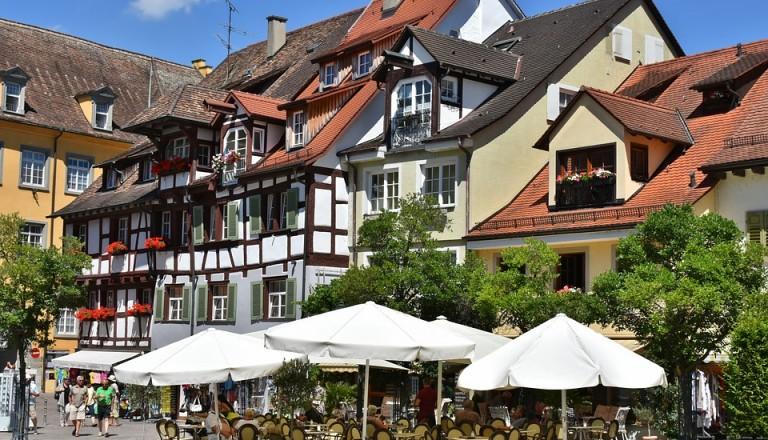 Meersburg am Bodensee.