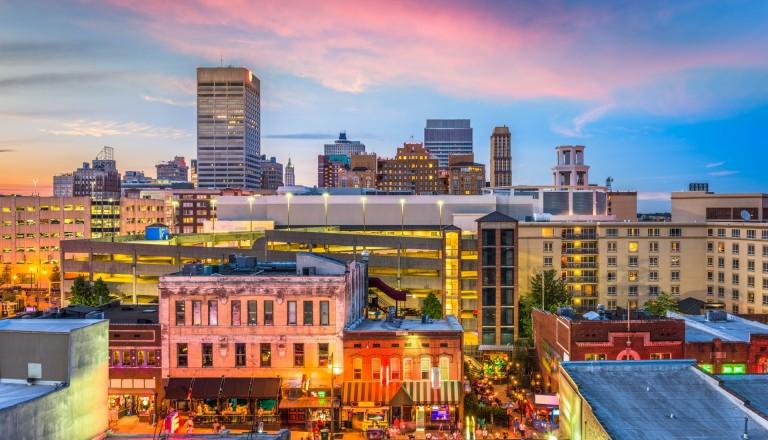 Memphis Städtereisen Skyline Beale Street