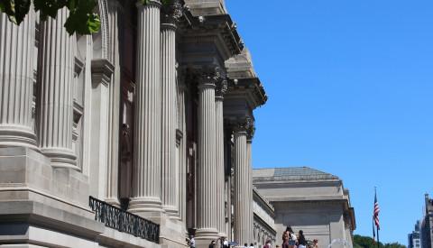 Das Metropolitan Museum ist das größte Kunstmuseum der USA.