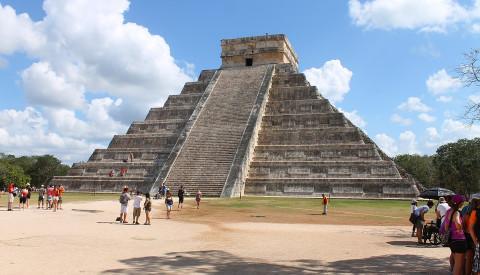 Die Maya Tempelanlage Chichén Itzá
