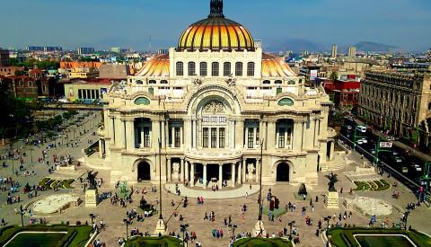 Palacio de Bellas Artes in Mexiko-Stadt