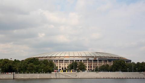Das Stadion von Moskau