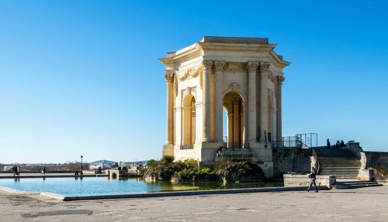 Der Place Royale du Peyrou, Montpellier.