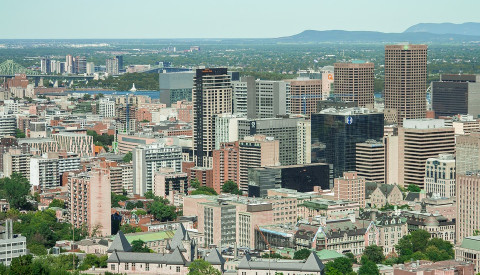 Montreal Innenstadt, Kanada