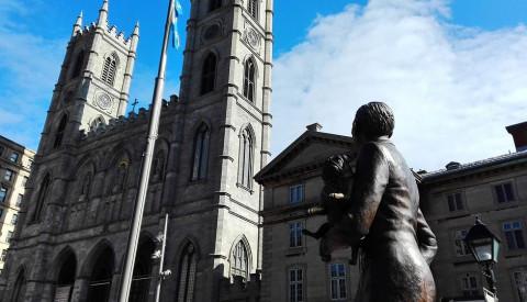 Die Basilika Notre Dame von Montreal.