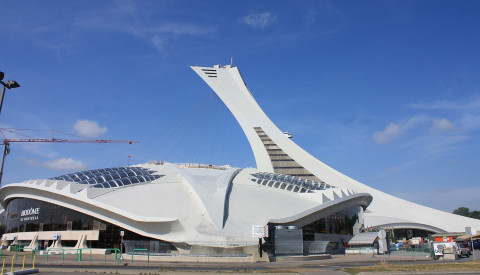Das Olympiastadion in Montreal.
