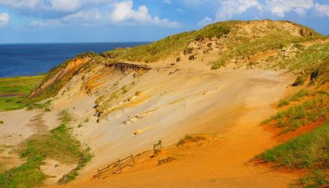 as Morumer Kliff auf Sylt