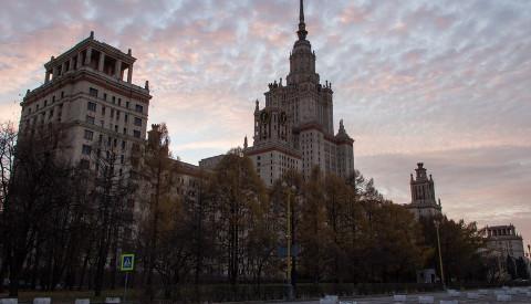 Lomonossow-Universität in Moskau