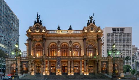 Das Theater Municipal of Sao Paulo