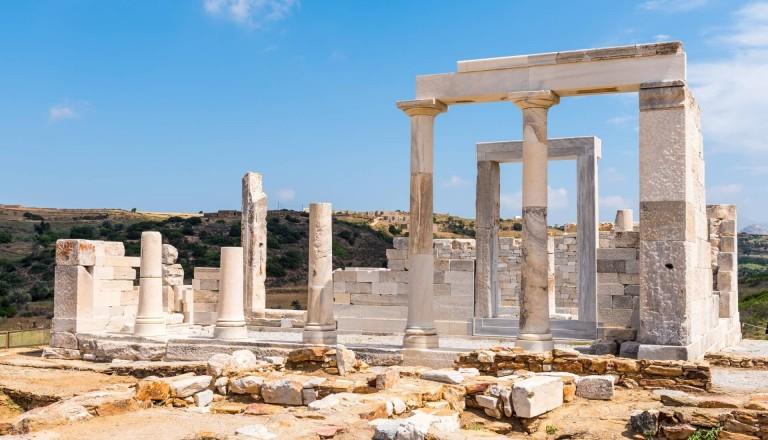 Der Tempel der Demeter auf Naxos
