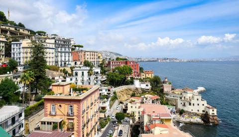 Malerische Romantik in Posilippo Neapel