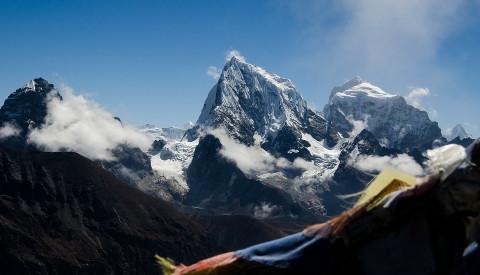Der majestätische Mount Everest im Himalaya