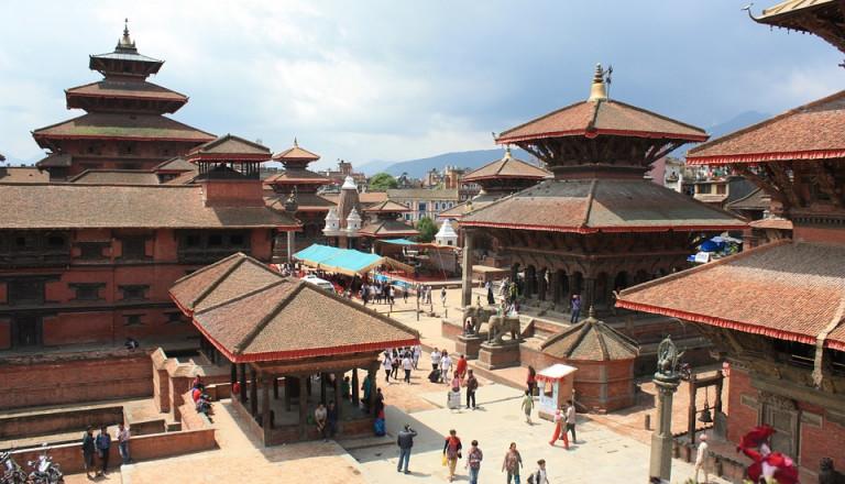 Rundreisen Nepal Kathmandu Durbar