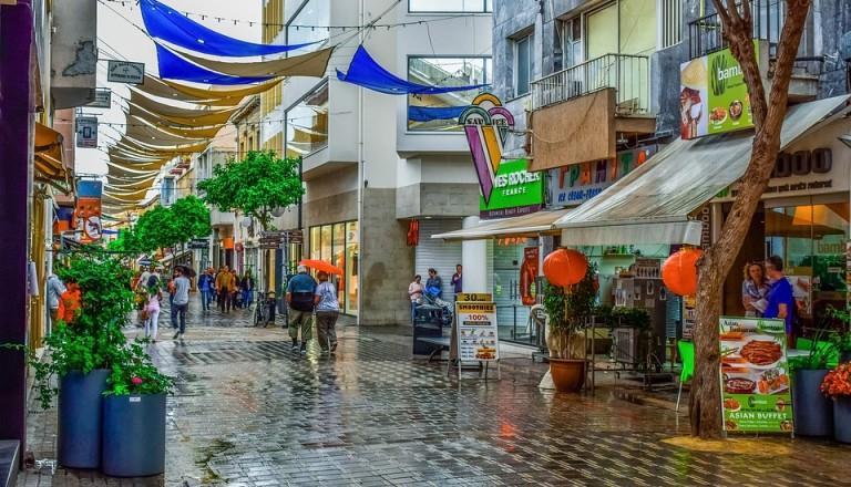 Shoppen und Bummeln in Nikosia.
