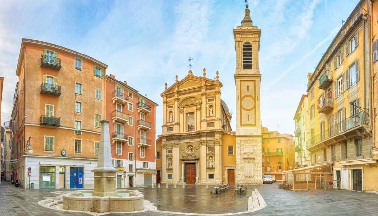 Die Cathédrale Sainte-Réparate de Nice. Nizza