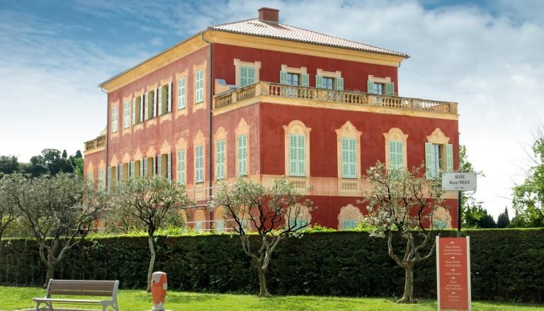 Das Matisse Museum in Nizza.