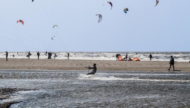 Wind- und Wassersport steht hoch im Kurs auf St- Peter Ording.